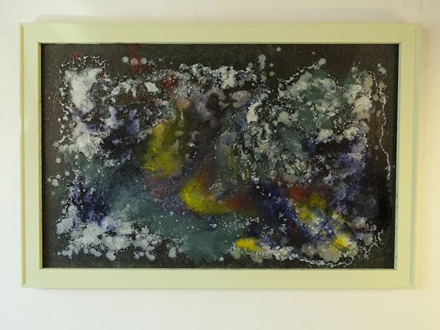 Green Frame Series A, No. 1