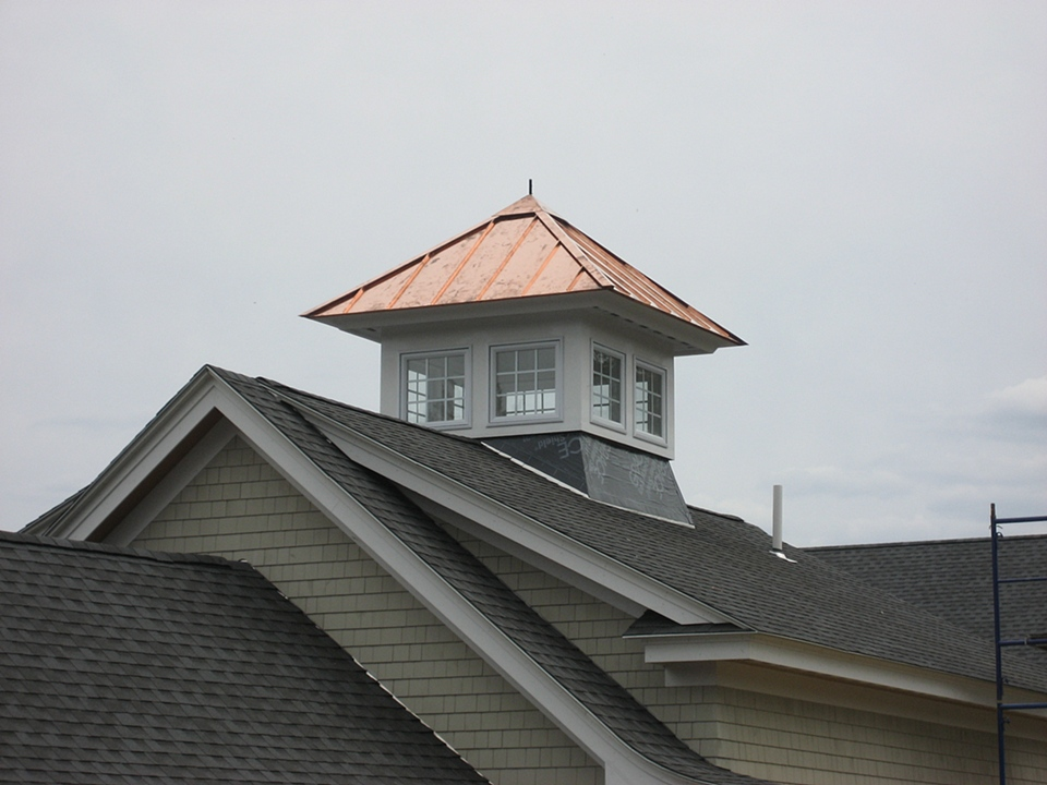 Mccrillis Hill Copper Works Copper Cupola Roof