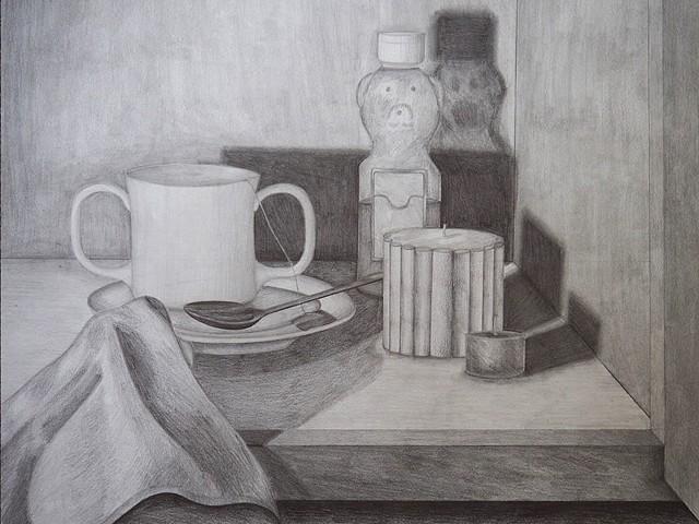 Cupboard Cabinet Drawing